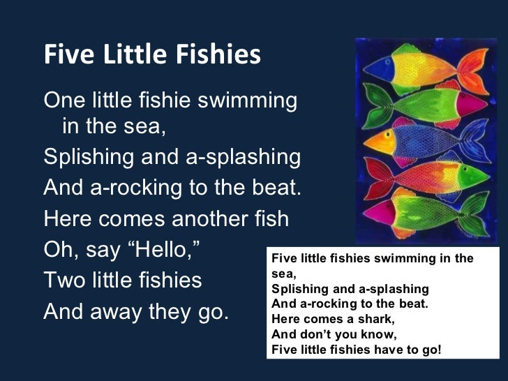 Joan shin 39 s songs and chants for young learners for Little fish song