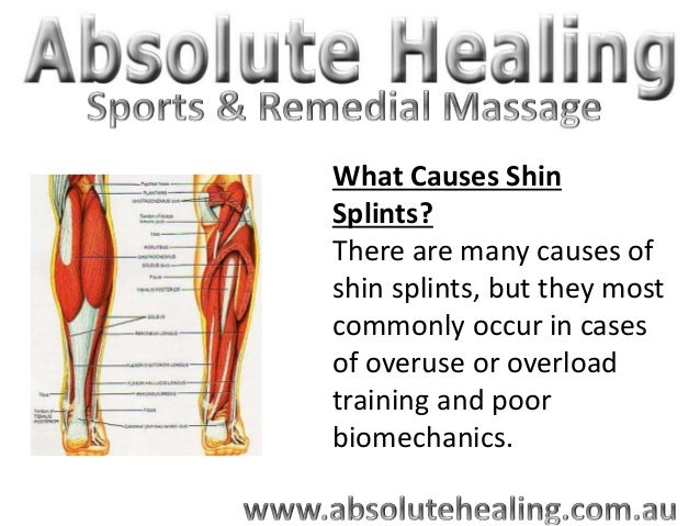 sports massage sydney - shin splints, Human Body