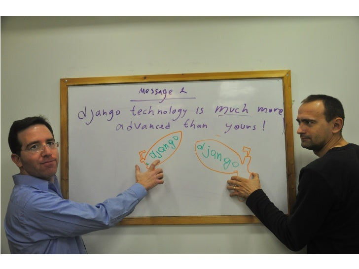 <message 2>  Django people seem like aliens, but their technology is much more advanced than yours       Picture of dmitri...