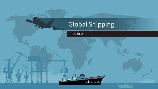 Powerpoint Template For Shipping Companies Slide Marvels Www Slide