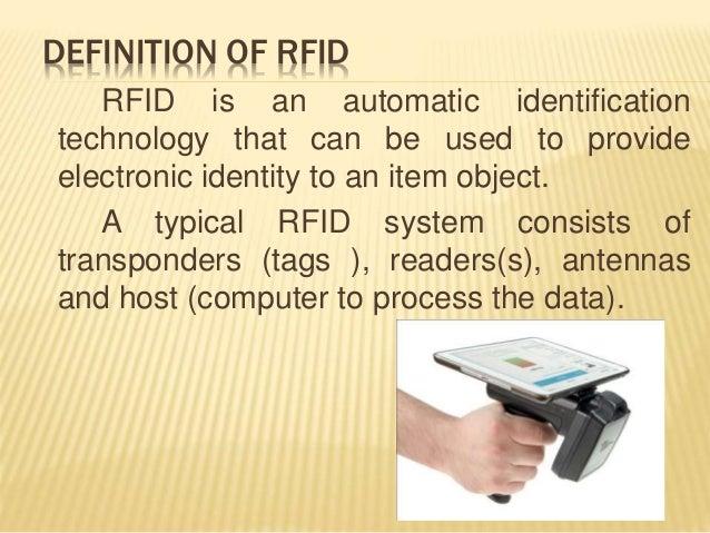 Bar code VS RFID