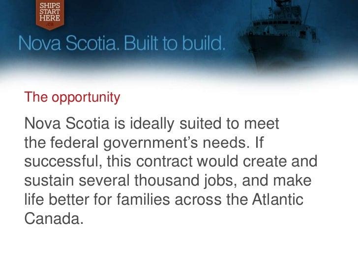 shipsstarthere ca  nova scotia u2019s response to the national