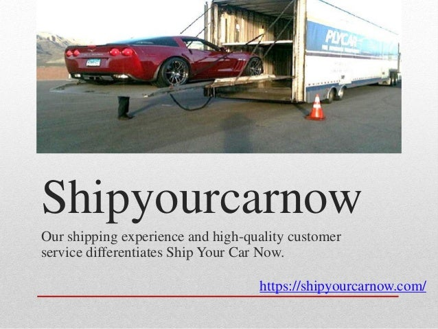 Ship My Car >> Ship My Car Without Any Trouble