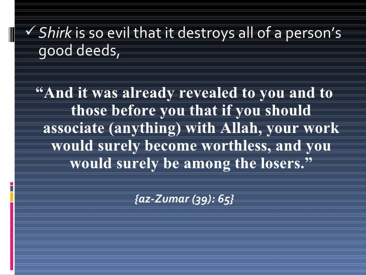 Sahih International: Indeed, Allah does not forgiveassociation with Him, but He forgives what is lessthan that for whom He...