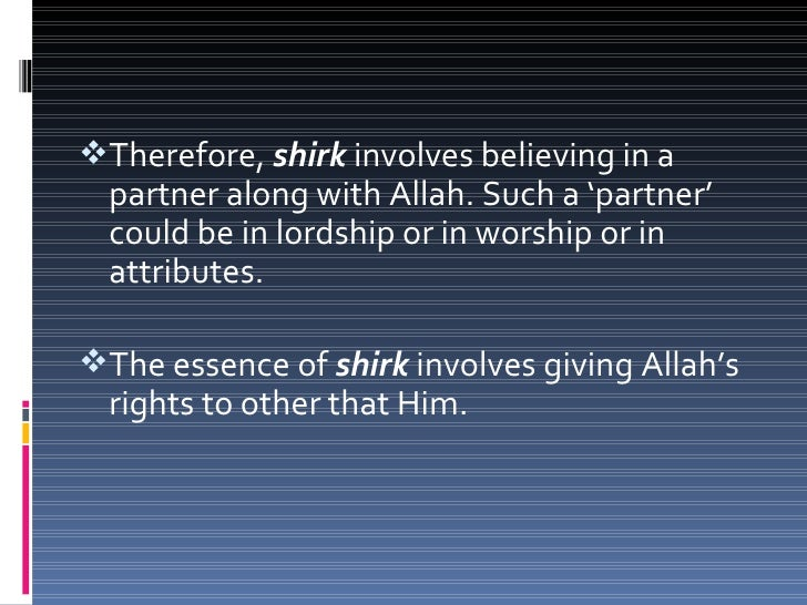 To therefore claim that a certain object or  deity has the power to bless one with one's  needs is shirk.To prostrate or...