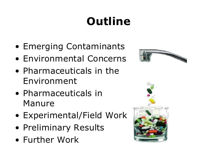 Emerging contaminants in surface and Drainage Water By Shiv Slide 2