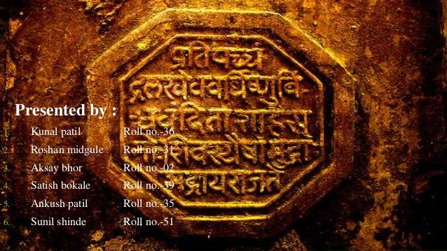 Presented by :  1. Kunal patil Roll no.-36  2. Roshan midgule Roll no.-31  3. Aksay bhor Roll no.-02  4. Satish bokale Rol...