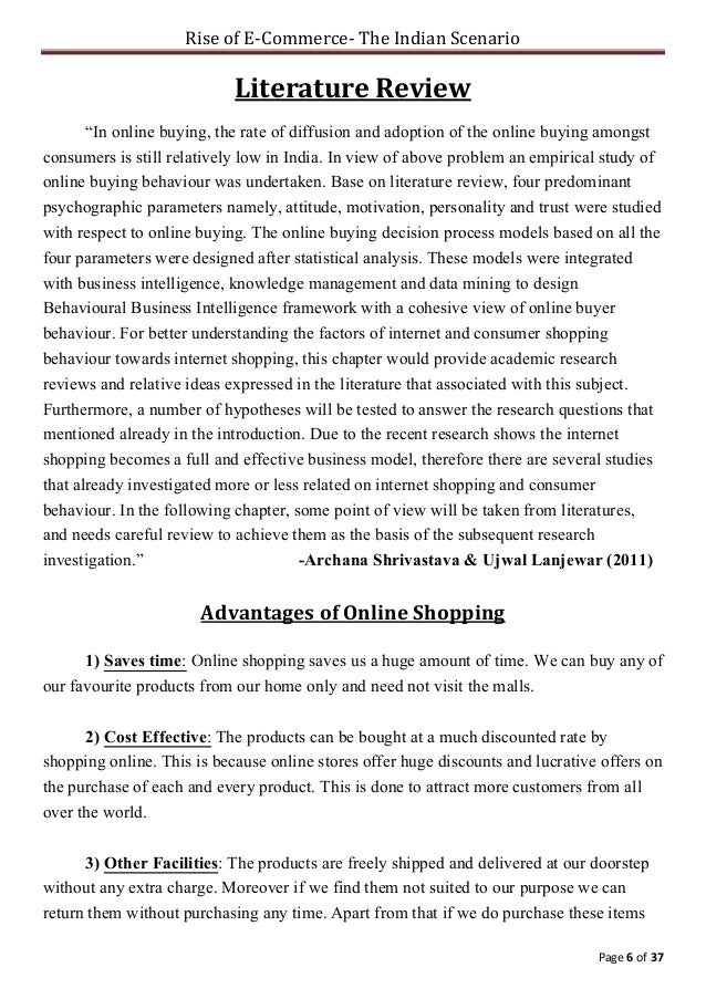 essay on online shopping in hindi language