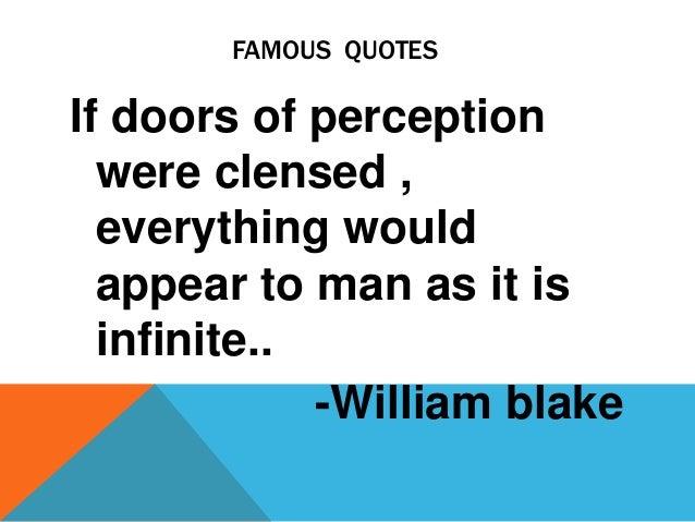 Famous Poet- William Blake
