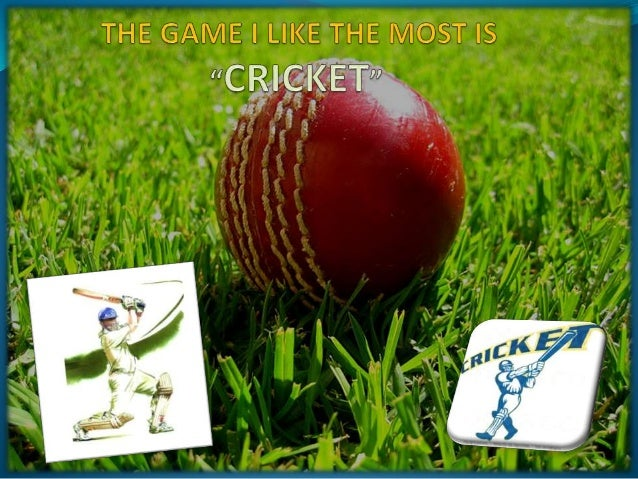 Cricket is a Bat and Ball game played between two teams of 11 players on a field, at the centre of which is a rectangular ...
