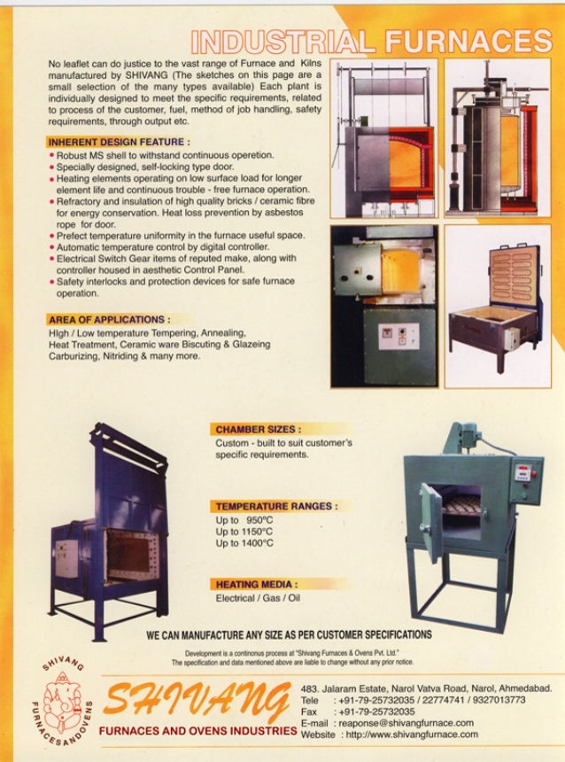 Shivang Furnaces And Ovens Industries, Ahmedabad, Furnaces and Ovens