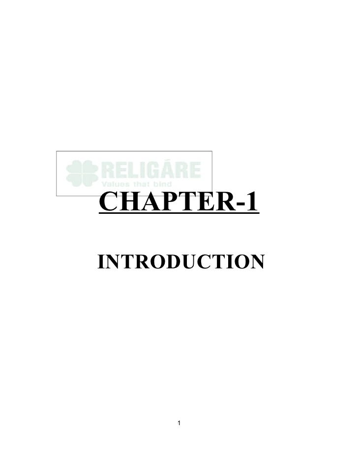 CHAPTER-1  INTRODUCTION          1