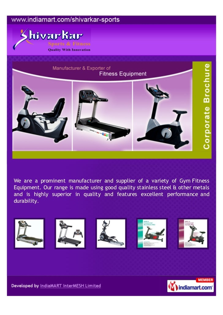 We are a prominent manufacturer and supplier of a variety of Gym FitnessEquipment. Our range is made using good quality st...