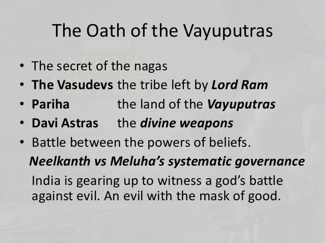 shiva trilogy the oath of the vayuputras pdf