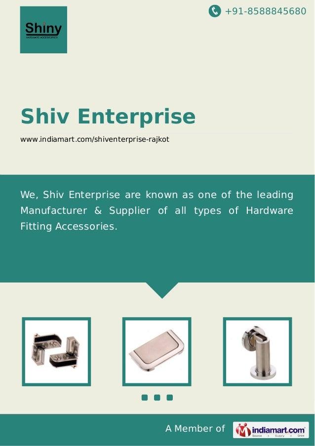 +91-8588845680 A Member of Shiv Enterprise www.indiamart.com/shiventerprise-rajkot We, Shiv Enterprise are known as one of...