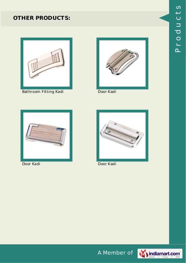 A Member of OTHER PRODUCTS: Bathroom Fitting Kadi Door Kadi Door Kadi Door Kadi Products