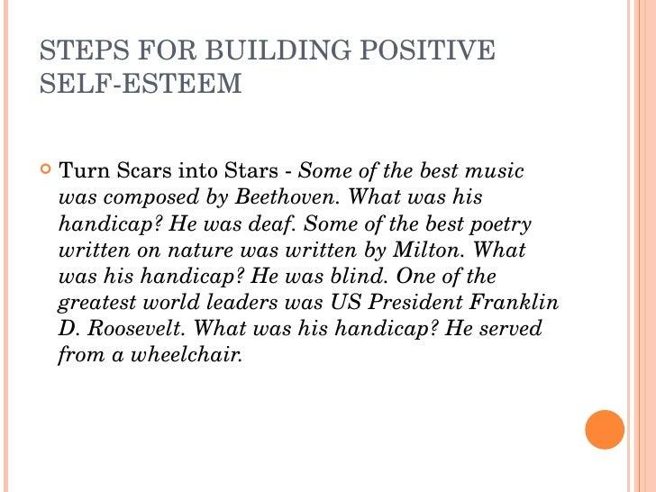 STEPSFORBUILDINGPOSITIVE SELFESTEEM     TurnScarsintoStarsSomeofthebestmusic     wascomposedbyBeethove...