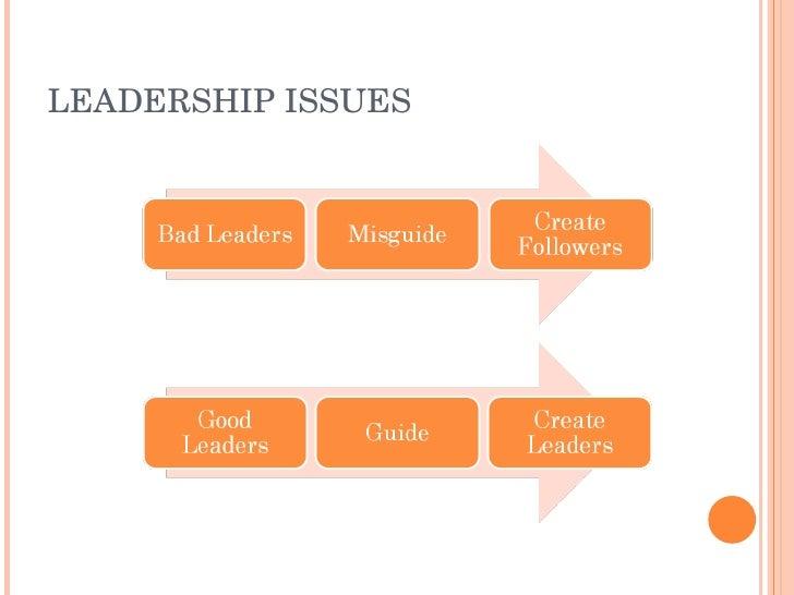 LEADERSHIPISSUES