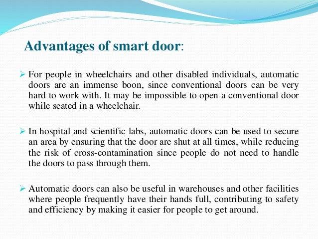 Shiv smart door ppt