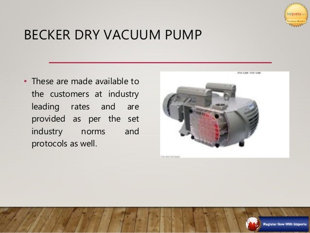OIL LUBRICATED VACUUM PUMP • These are made available to the customers at industry leading rates and are provided as per t...