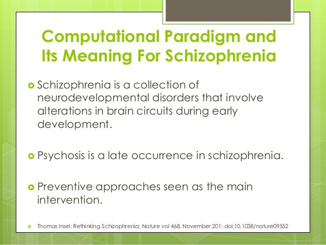 case study a young male with auditory hallucinations in paranoid schizophrenia