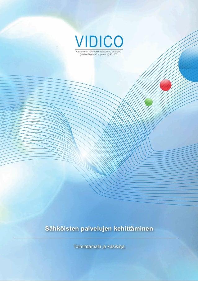 Sähköisten palvelujen kehittäminen        Toimintamalli ja käsikirja