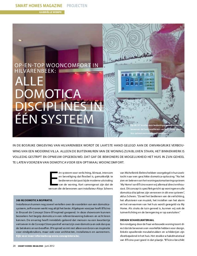smart homes magazine juli 2012. Black Bedroom Furniture Sets. Home Design Ideas