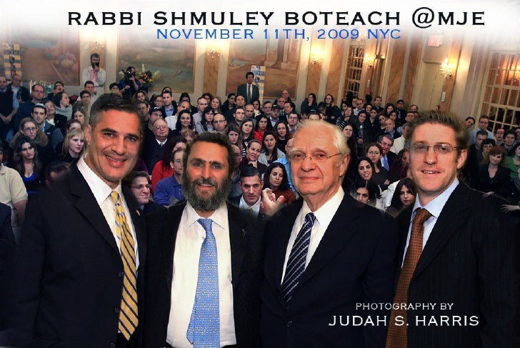 Rabbi Shmuley Boteach at MJE
