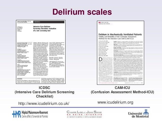 thesis delirium