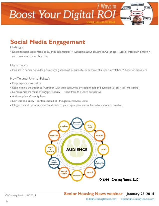 Social Media Engagement Challenges: Desire to keep social media social (not commercial) + Concerns about privacy, intrus...