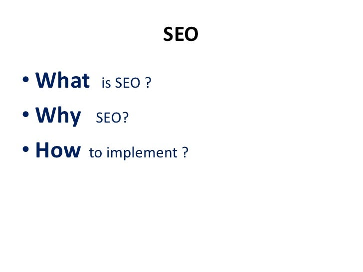 SEOSearch engine optimization is theprocess that enable your site toappear higher in a list of searchengine results and ge...