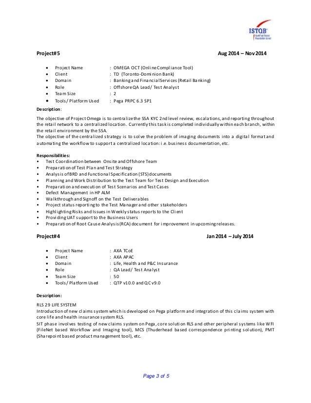 pega testing resume 60 images pega questions