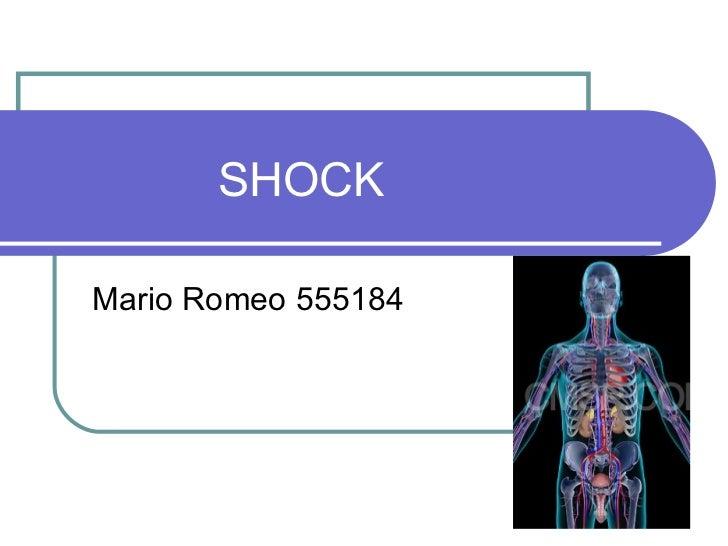 SHOCK Mario Romeo 555184