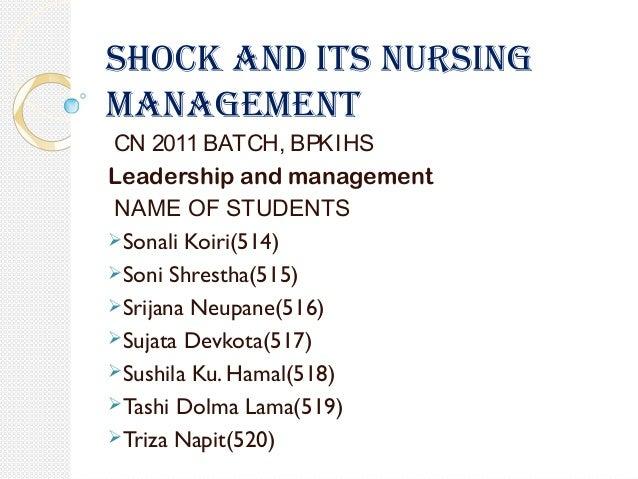 nursing care plan for anaphylactic shock