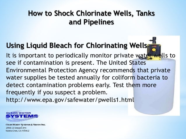 Shock Chlorination