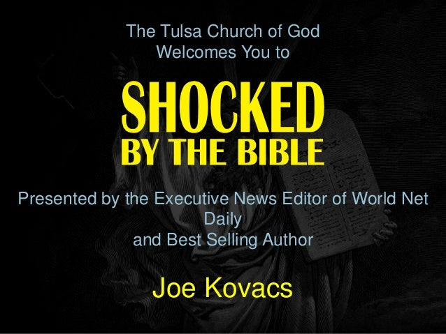 The Tulsa Church of God                Welcomes You toPresented by the Executive News Editor of World Net                 ...