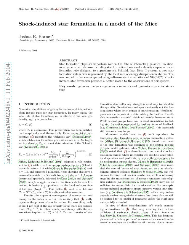 Mon. Not. R. Astron. Soc. 000, 1–12 (2003)        Printed 2 February 2008    (MN L TEX style file v2.2)                    ...