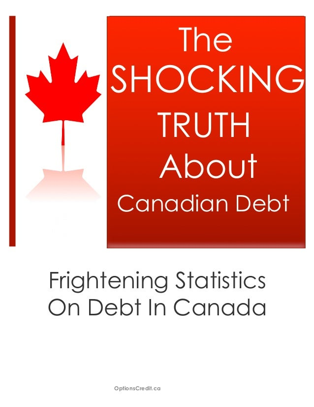 The      SHOCKING                    TRUTH                    About      Canadian DebtFrightening StatisticsOn Debt In Can...