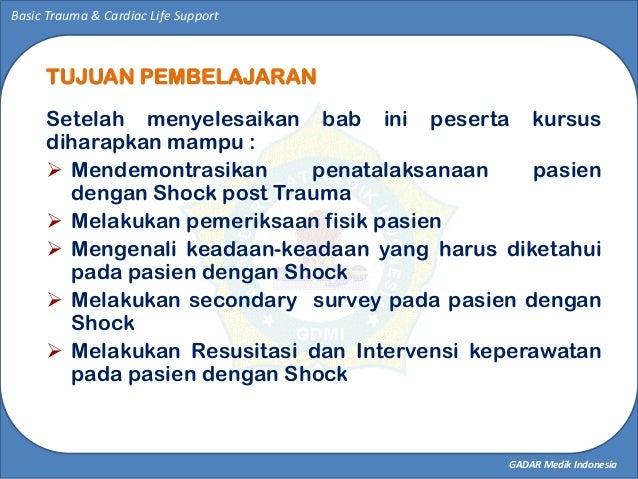 SHOCK MANAGEMENT  Slide 2