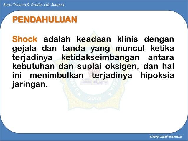 SHOCK MANAGEMENT  Slide 3