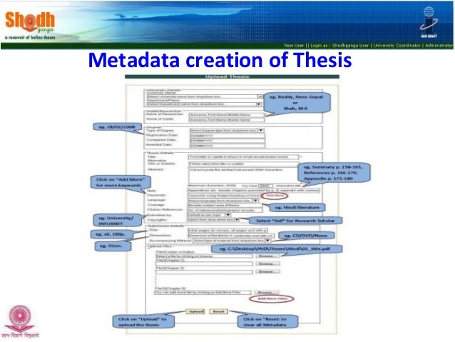 e thesis india South campuslibrary ( delhi university library system) university of delhi delhi-110 021 ( india ) resources information center (eric) database, networked digital library of theses & dissertations, vidyanidhi: indian theses database (click here).