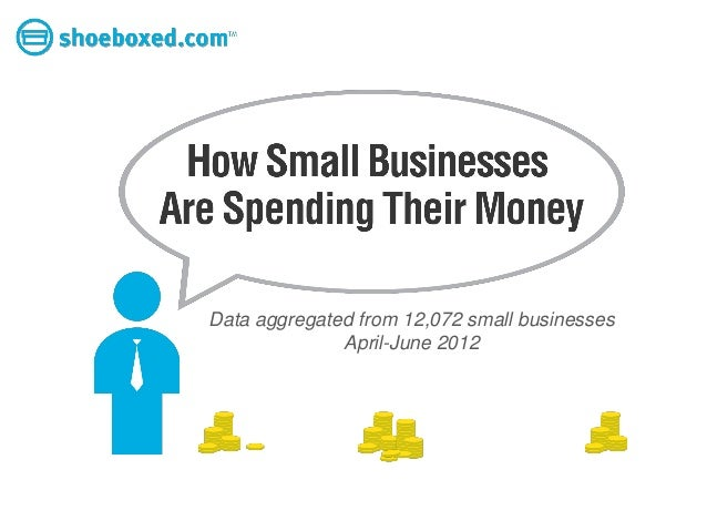 Data aggregated from 12,072 small businesses              April-June 2012