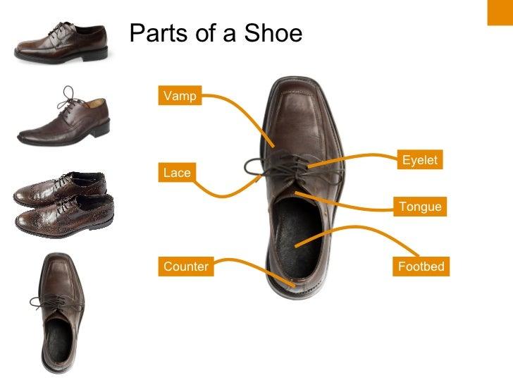 Parts Of A Heel Shoe