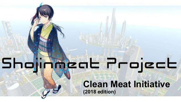 Clean Meat Initiative (2018 edition)