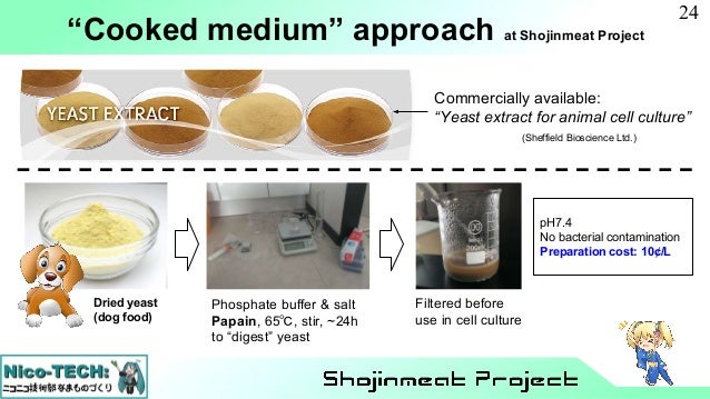 Shojinmeat Project : Clean meat initiative April 2018