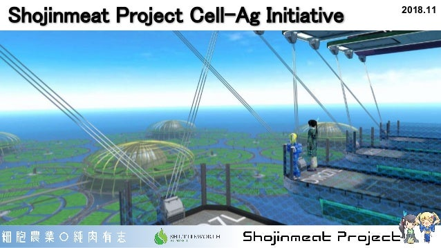 Shojinmeat Project Cell-Ag Initiative 2018.11