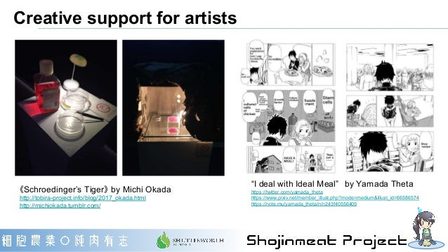 """Creative support for artists """"I deal with Ideal Meal"""" by Yamada Theta https://twitter.com/yamada_theta https://www.pixiv.n..."""