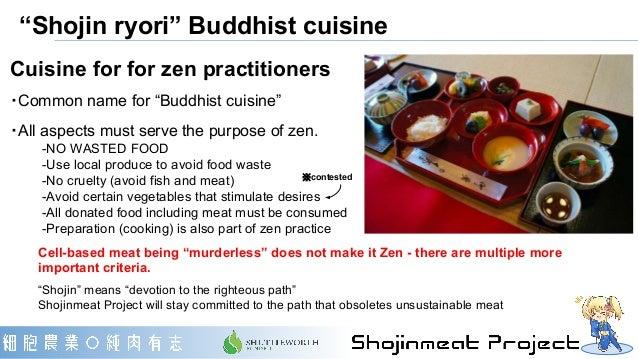 """Shojin ryori"" Buddhist cuisine Cuisine for for zen practitioners ・Common name for ""Buddhist cuisine"" ・All aspects must se..."