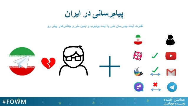 + ایران در رسانیپیام رو پیش هایچالش و ملی ایمیل و یوتیوب آینده با ملی رسانپیام آینده...