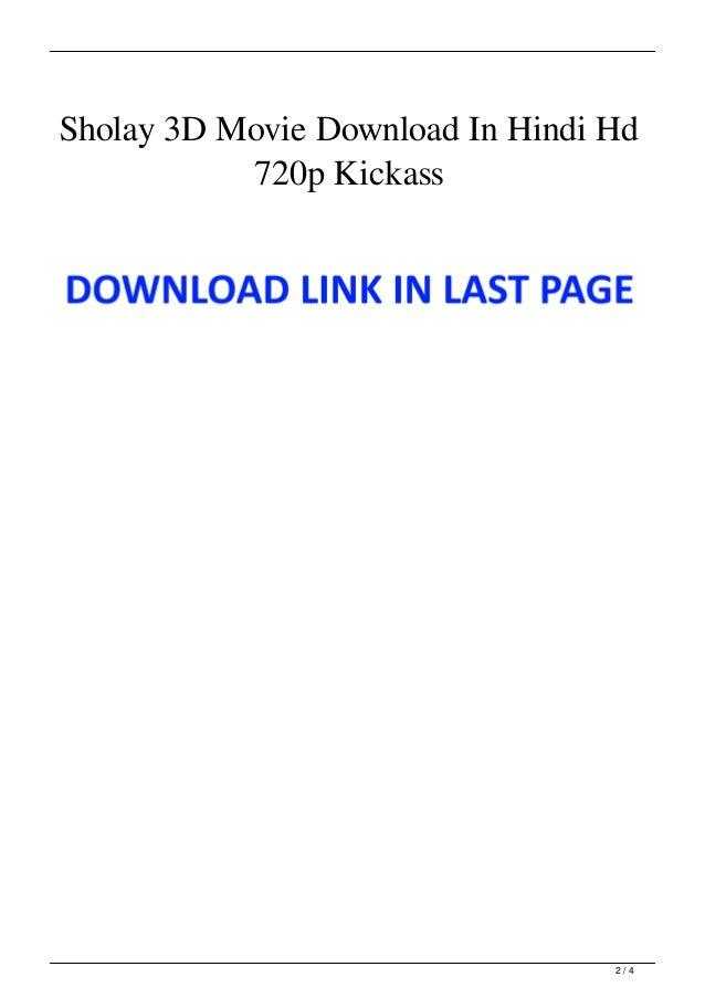 Sholay 3D Movie Download In Hindi Hd 720p Kickass Slide 2